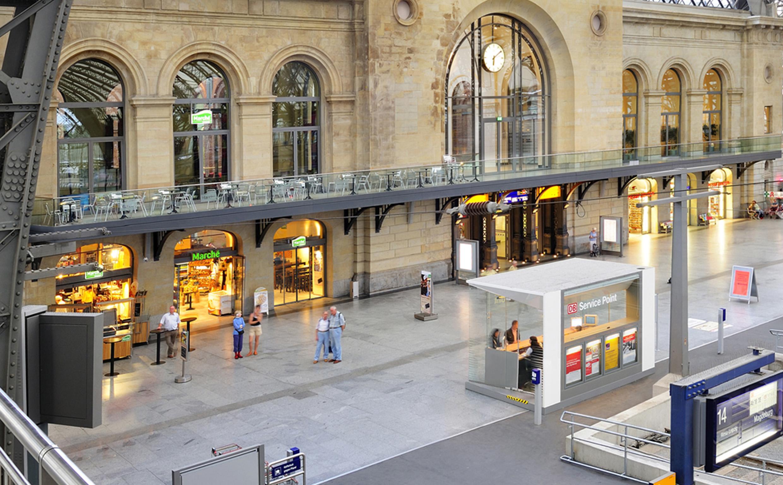Deutsche bahn kiosk for Produktdesign offenbach